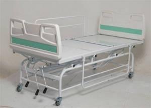 CAMA HOSPITALAR  LUXO MANUAL COM ELEVAÇÃO DE ALTURA