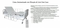 CAMA AUTOMATIZADA COM ELEVAÇÃO SEMI LUXO